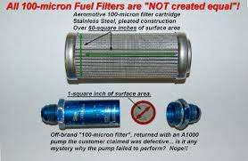 Pre Pump Fuel Filtration Aeromotive Inc