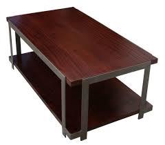 Organic Modern Furniture Organic Modern Industrial Coffee Table Mortise Tenon
