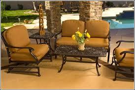 Image Swivel Cast Aluminum Patio Furniture Cabana Coast Reasons To Choose Cast Aluminum Outdoor Furniture Palm Casual