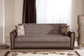 alfa redeyef brown convertible sofa bed