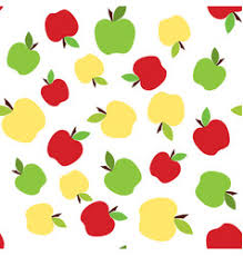Apple Pattern Inspiration Colorful Apple Pattern Royalty Free Vector Image