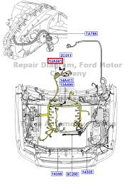 2007 ford explorer engine wiring harness 2007 new oem engine wiring harness ford explorer sport trac mercury