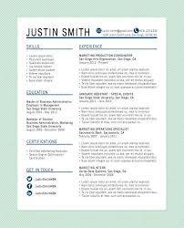 Resumes That Stand Out Simple Free Resume Templates That Stand Out From The Competition With This