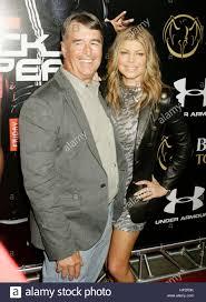 Jon Patrick Ferguson and his daughter, Stacy Ferguson, aka Fergie of Stock  Photo - Alamy