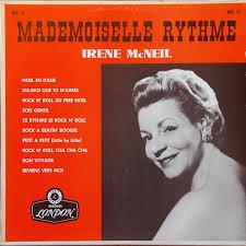 Irêne McNeil – Mademoiselle Rythme (1958, Vinyl) - Discogs
