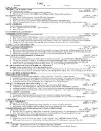Student Resume Sample Amazing Career Services Sample Resumes For Graduate Students And Postdocs