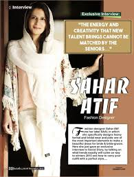 Interview Of A Fashion Designer Sahar Atif Fashion Designer Social Diary