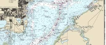 Tampa Bay Marine Chart Tampa Bay And St Joseph Sound Chart Splashmaps