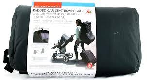car seat travel bag car seat ultimate backpack padded car seat travel bag by wheels