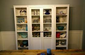 hemnes glass door cabinet our new china cabinet set up glass door cabinet glass door cabinet