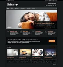 Website Templates Wordpress Fascinating Portfolio Themes Website Templates WordPress Web Design Theme Best