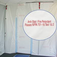 6 mil fire retardant anti static by americover fire proof sheeting r29