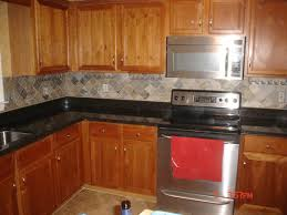 Kitchen Backsplash Patterns Kitchen Backsplash Ideas With Hickory Cabinets Nucleus Home