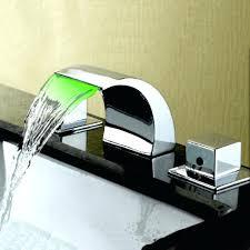waterfall bathtub led bathtub faucets waterfall bathtub faucet at within led bathroom faucet