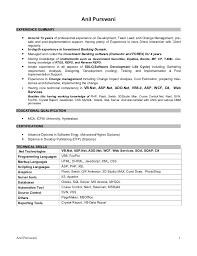 Salesforce Experienced Resumes Anil Purswani Resume