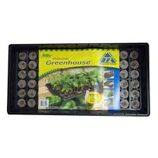 jiffy professional greenhouse with plant labels starter kit