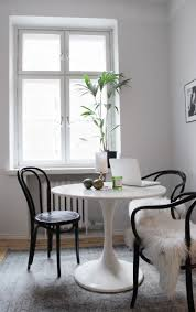 Black Bentwood Chairs. Ikea Round TableRound ...
