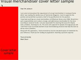 Cover Letter Visual Merchandiser Experience Resumes