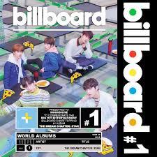 Billboard Txt 1 On World Albums Chart Ekko Music Rights