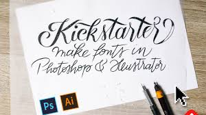 Easily turn your lettering into usable, colorful fonts, and sell or share  them right