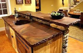 kitchen countertops options outdoor low cost countertop est
