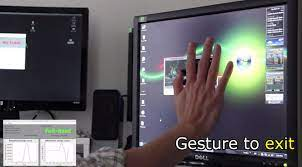 standard lcd monitor into touchscreen