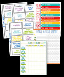 Make A Chore List Create A Chore Chart That Works Free Chore Charts For Kids
