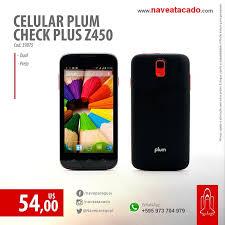 Celular Plum Check Plus Z450 Dual Preto ...