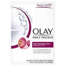 olay daily s daily hydrating clean 5 in 1 cleansing power of