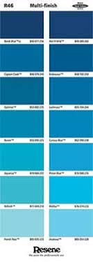 Resene Exterior Colour Chart Colour Charts