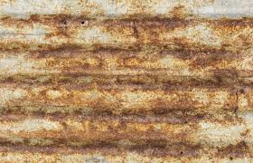 rusty corrugated metal roofing texture stock photo