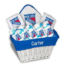 personalized new york rangers large gift basket