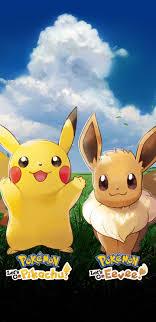 Pikachu Eevee Wallpaper (Page 1) - Line ...