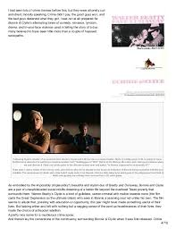 le cinema dreams film essay bonnie and clyde   5 and