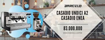 Máy pha cà phê Casadio Undici A2 của Ý - Hàng Chính Hãng - Barcelo Coffee