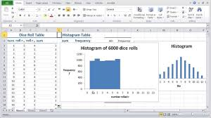 how to make a histogram in excel how to make a live histogram in excel