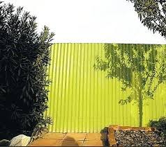 corrugated metal fence outdoors corrugated metal fence painted green diy wood framed corrugated metal fence