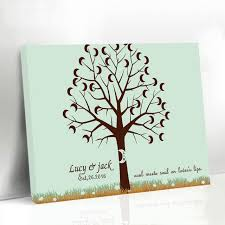 Fingerprint Baby Shower Tree