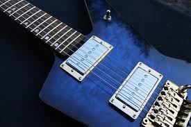855 Guitars BluRevolution / Explorer Styled Body Blue Quilted | Reverb & 17% price drop Adamdwight.com