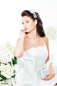 Bruidskapsels Half Lang Haar Haar Accessoires Bruiloft Bestellen