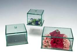 doll display cases glass beveled jewelry boxes for doll display cases