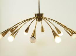 12 arm chandelier 1950s 3
