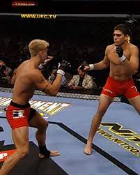 UFC - Nick Diaz First Fight in the UFC ...