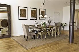 large rug for under dining table