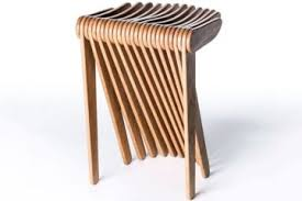 Cassina Swish: This May Be The Most Beautiful Folding Stool We've Seen
