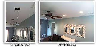 recessed lighting living room. Philadelphia Installation Of Recessed Lights Living Room, Family Kitchen Lighting Room