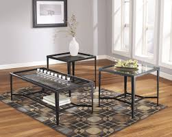 51 most bang up ashley furniture calder piece coffee table set more views and end tables occasional square glass top cocktail sets to dining stone black