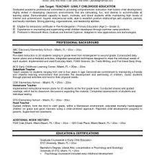 Higher Education Resume Samples Fresh Student Teacher Resume ...