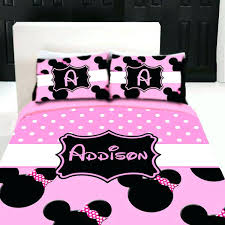 minnie mouse toddler bed set mouse bedroom set mouse custom personalized bedding set by in toddler minnie mouse