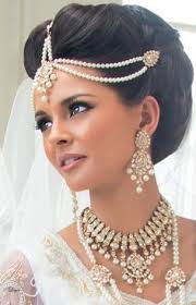 a neat updo can also look ideal on the bride if you have a long wedding hairstylebridal hairstylesindian bridal makeupindian